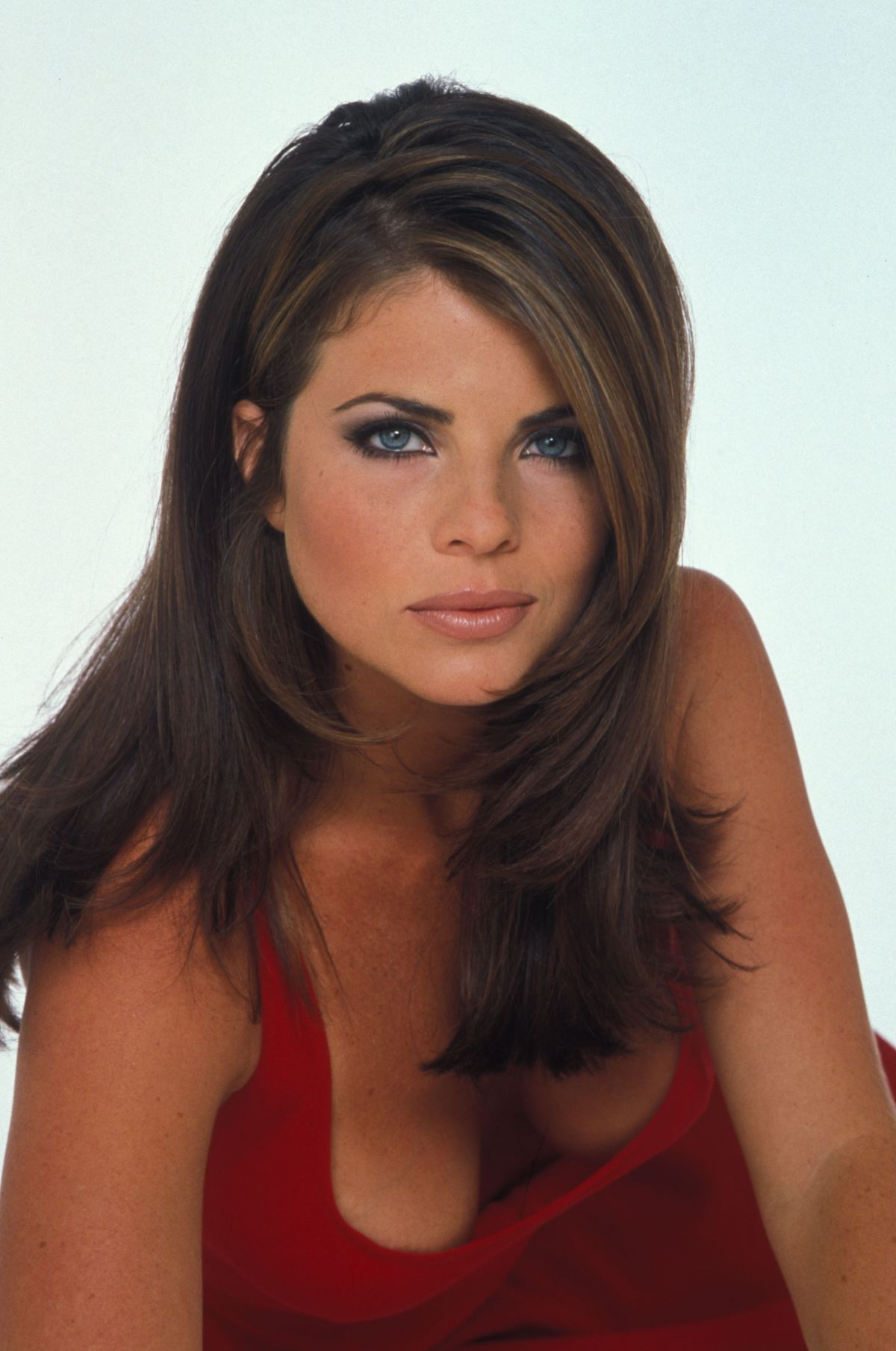 Yasmine Bleeth At Charles W Bush Photoshoot 1995 Celebzz