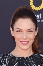 Amanda Righetti At P.S. ARTS and OneWest Bank