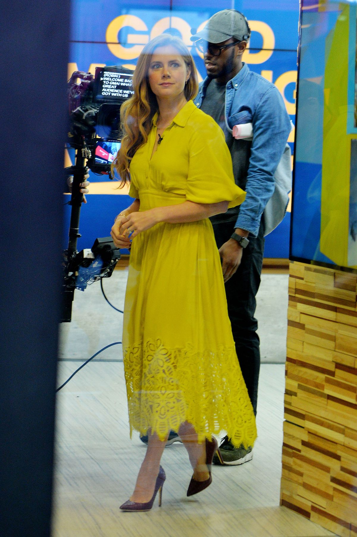 Amy adams on 39 good morning america 39 tv show new york for Tv shows to see in new york