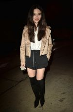 Crystal Reed As She Arrives For Dinner at Catch Resturant, West Hollywood