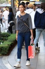 Danay Garcia Does Some Black Friday Shopping At The Grove in Hollywood