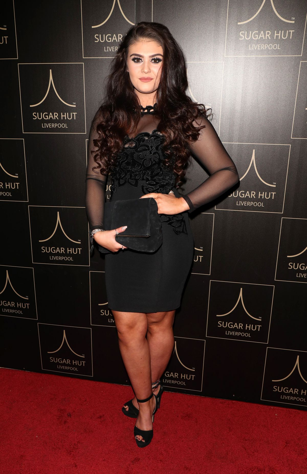 Emily Cunliffe At Sugar Hut Liverpool Launch Night