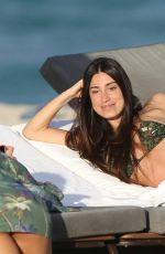 Giorgia Gabriele Relaxing in Miami Beach