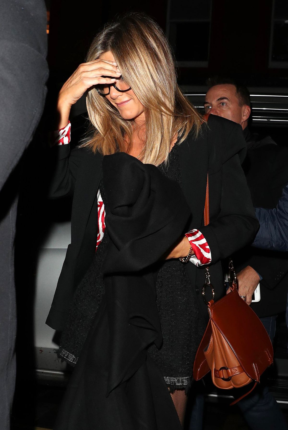 Jennifer Aniston At the Chiltern Firehouse in London