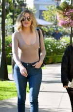 Khloe and Kourtney Kardashian Out and about in Los Angeles
