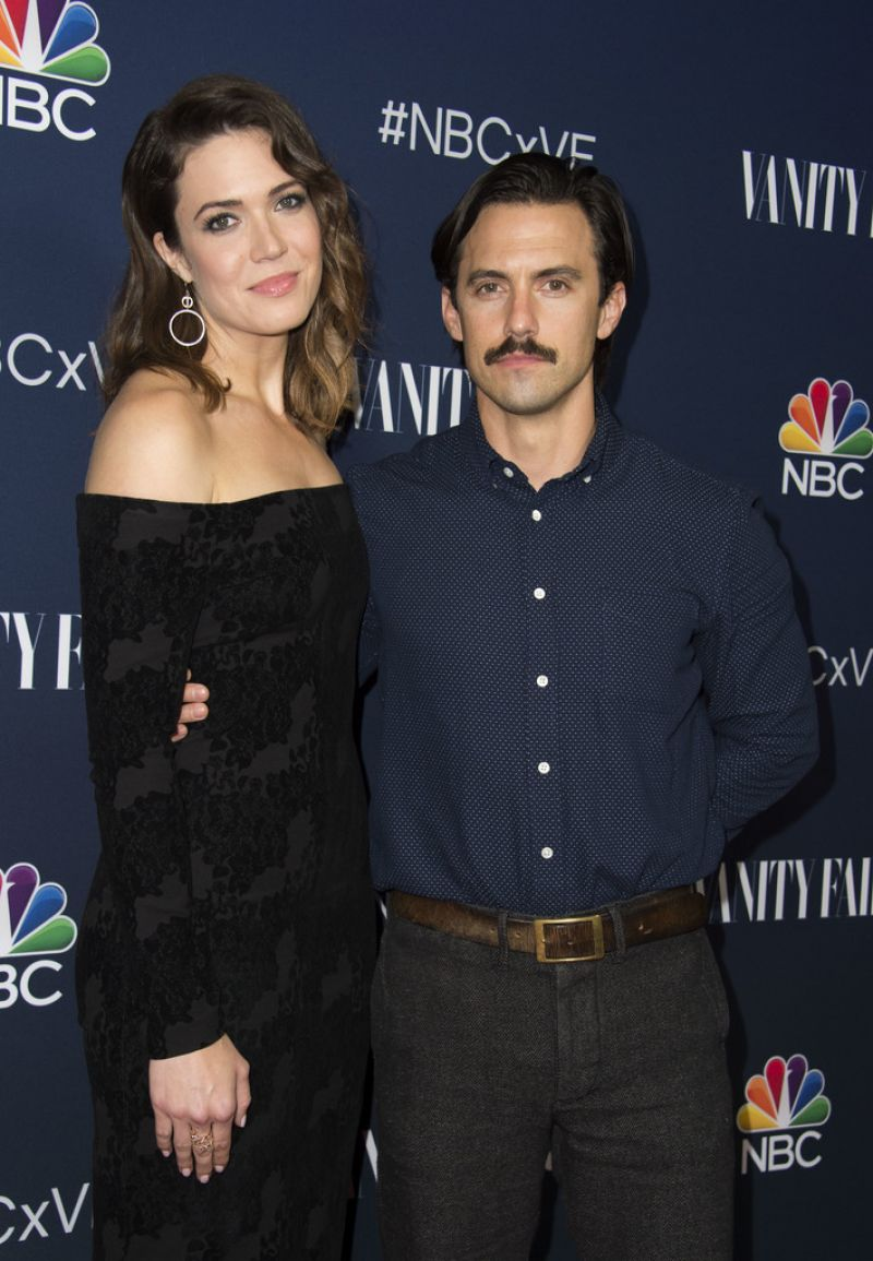 Mandy Moore At NBC and Vanity Fair Toast the 2016-2017 TV ...