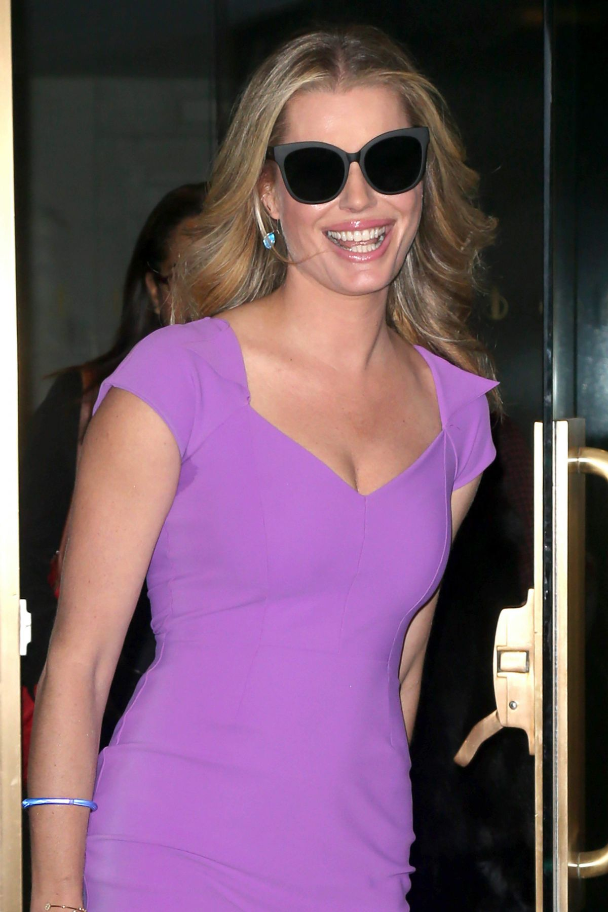 """Rebecca Romijn At """"Today"""" show interview, New York ..."""