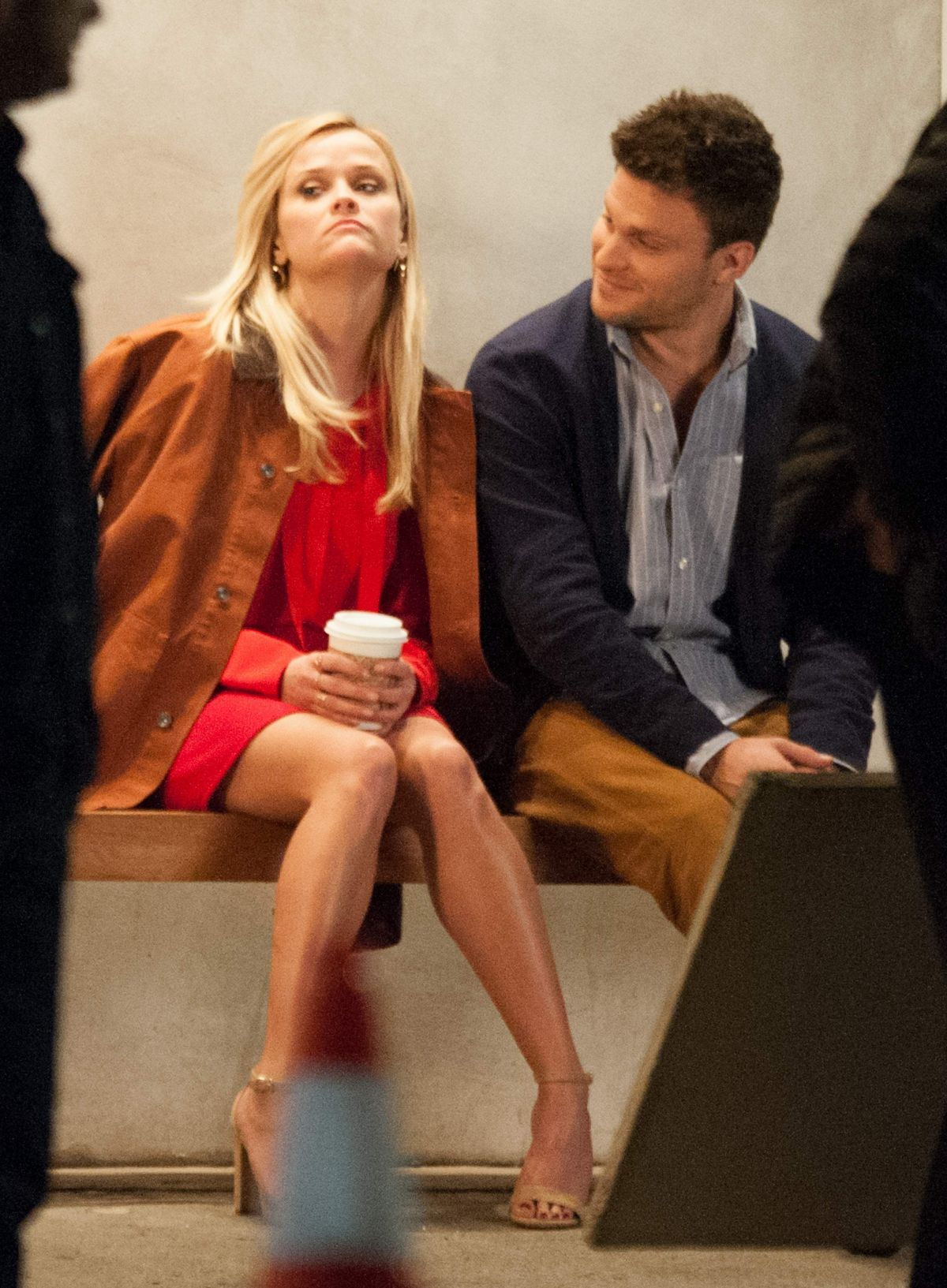 Reese Witherspoon At Home Again Filmset In La Celebzz