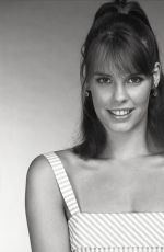 Alexandra Paul At unknown 1980s B&W photoshoot