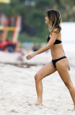 Anastasia Ashley Was seen relaxing by the beach with friends in Miami