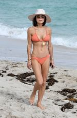 Bethenny Frankel In a peach bikini in Miami