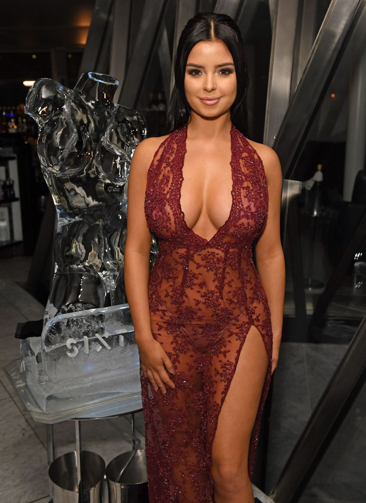 Demi Rose At Sixty6 Magazine Launch Party In London   demi-rose-at-sixty6-magazine-launch-party-in-london_1