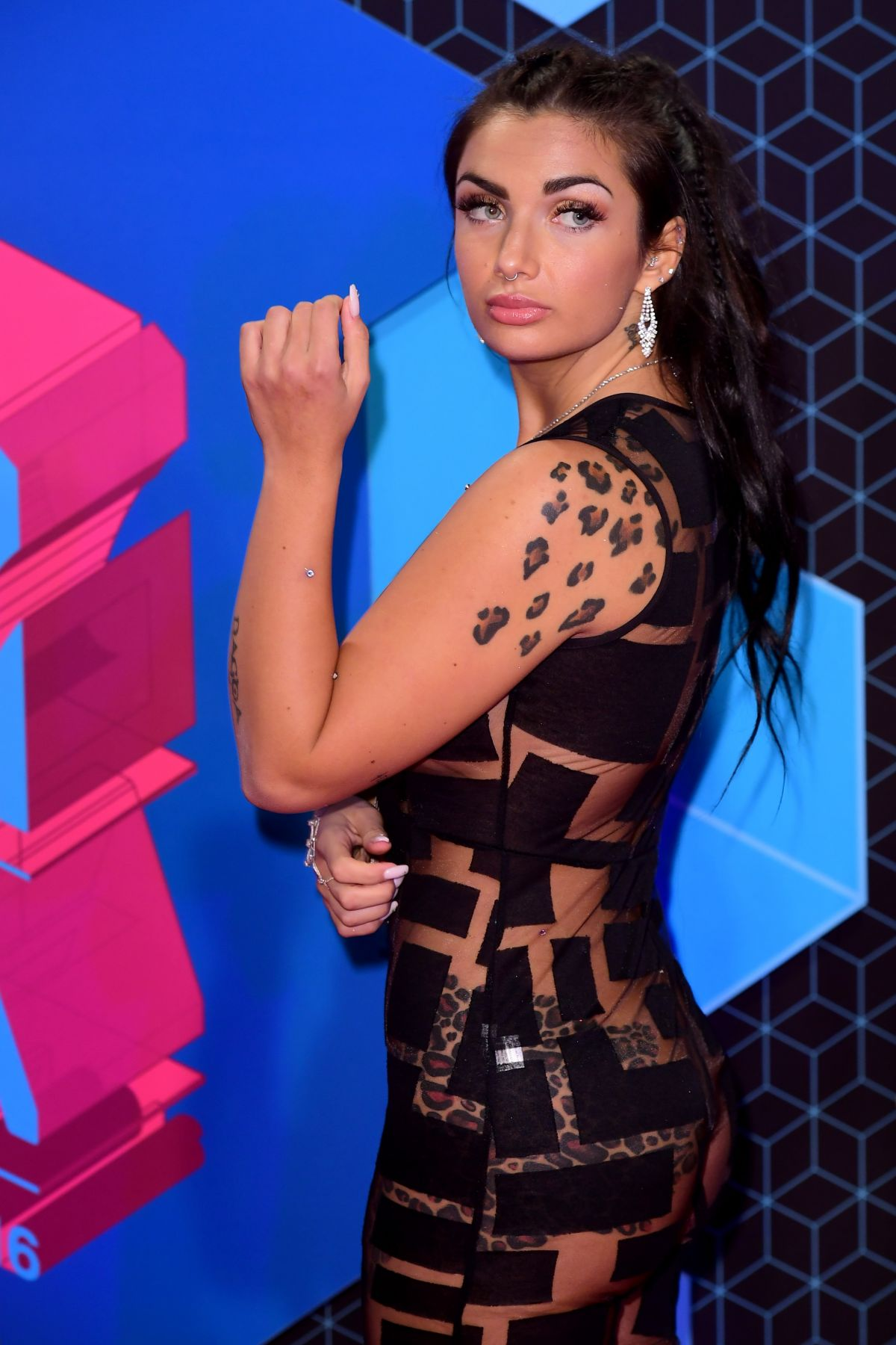 Elettra Lamborghini At the MTV Europe Music Awards 2016 in