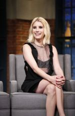 Emma Roberts At Late Night with Seth Meyers