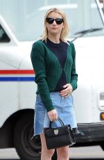 Emma Roberts Shopping in Beverly Hills