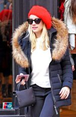 Emma Roberts Shopping in NYC