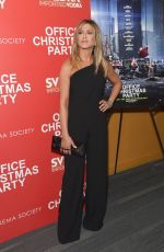 "Jennifer Aniston At screening of ""Office Christmas Party"" in NYC"