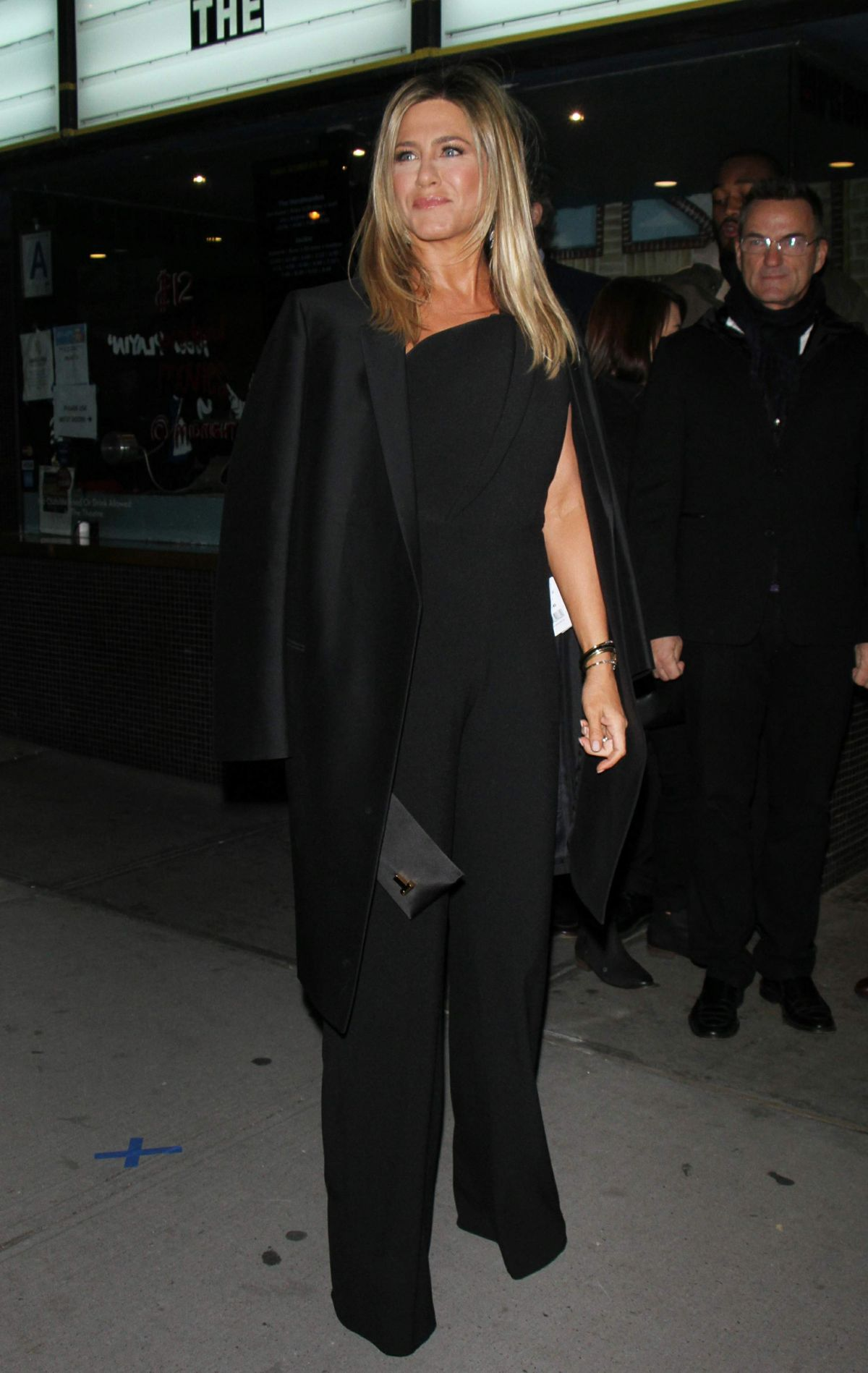 Jennifer Aniston Seen at 'Office Christmas Party' at Landmark Sunshine Cinema, NY   jennifer-aniston-seen-at-office-christmas-party-at-landmark-sunshine-cinema-ny_14
