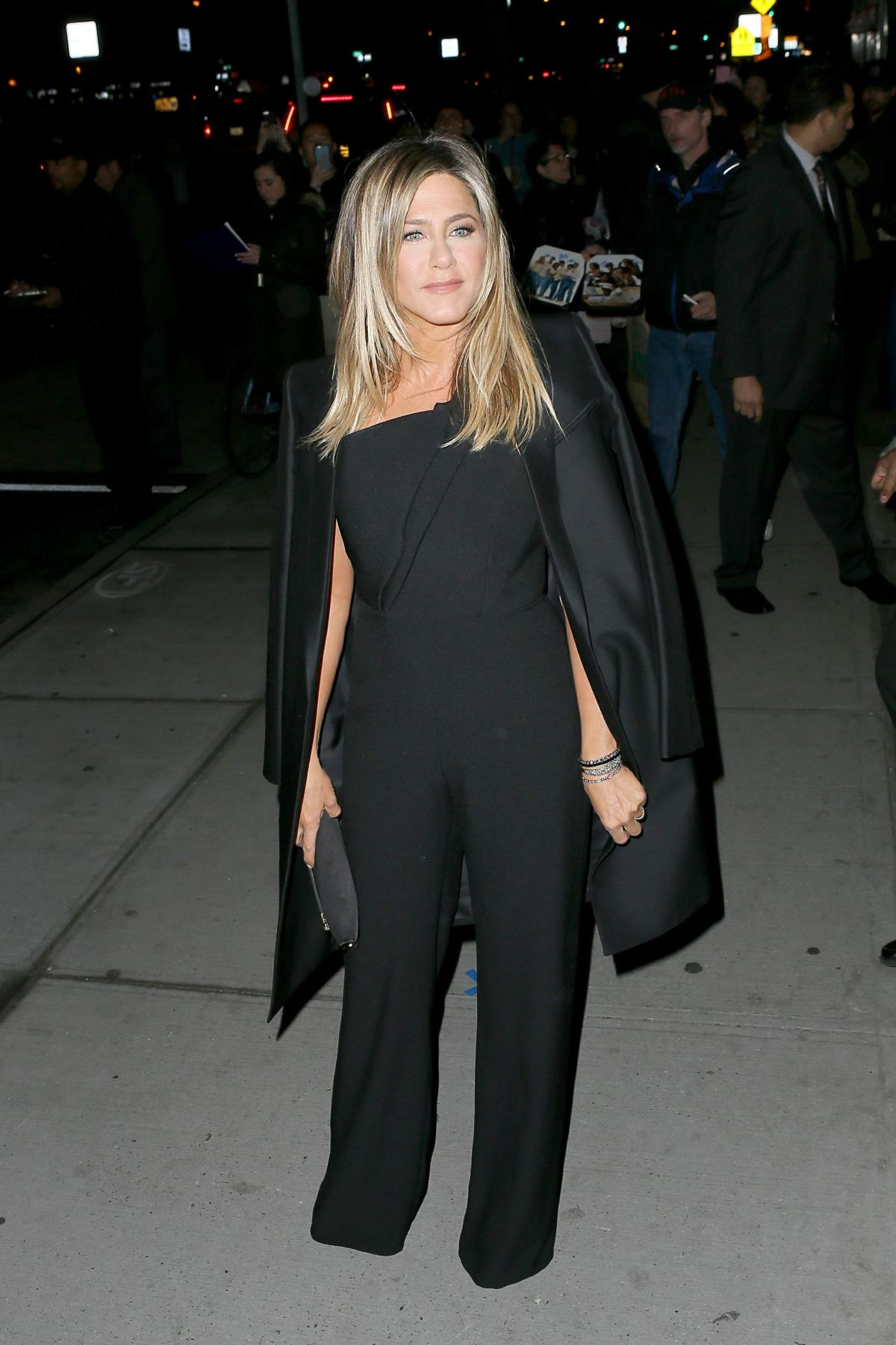 Jennifer Aniston Seen at 'Office Christmas Party' at Landmark Sunshine Cinema, NY   jennifer-aniston-seen-at-office-christmas-party-at-landmark-sunshine-cinema-ny_5