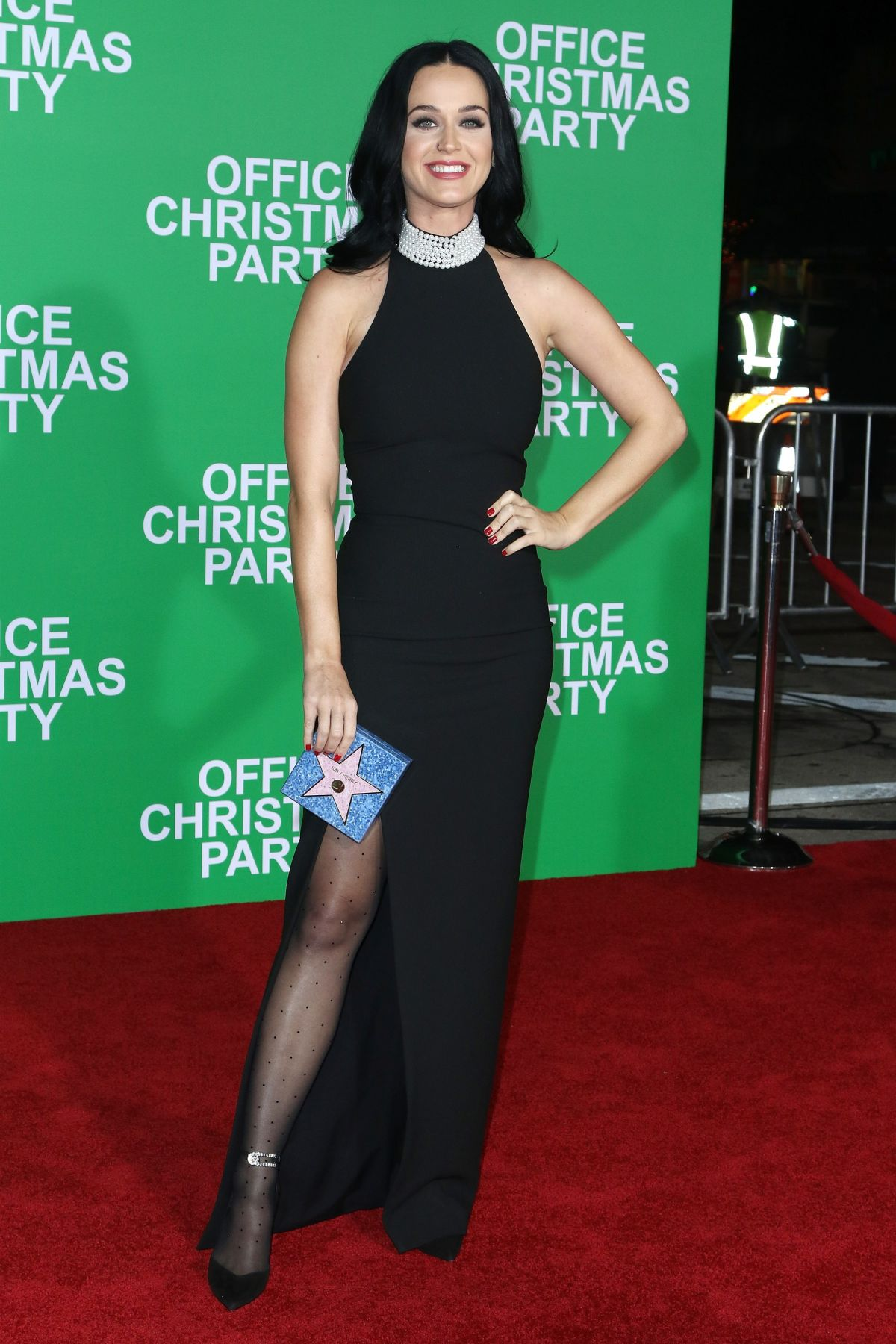Katy Perry At Office Christmas Party premiere in Westwood - Celebzz
