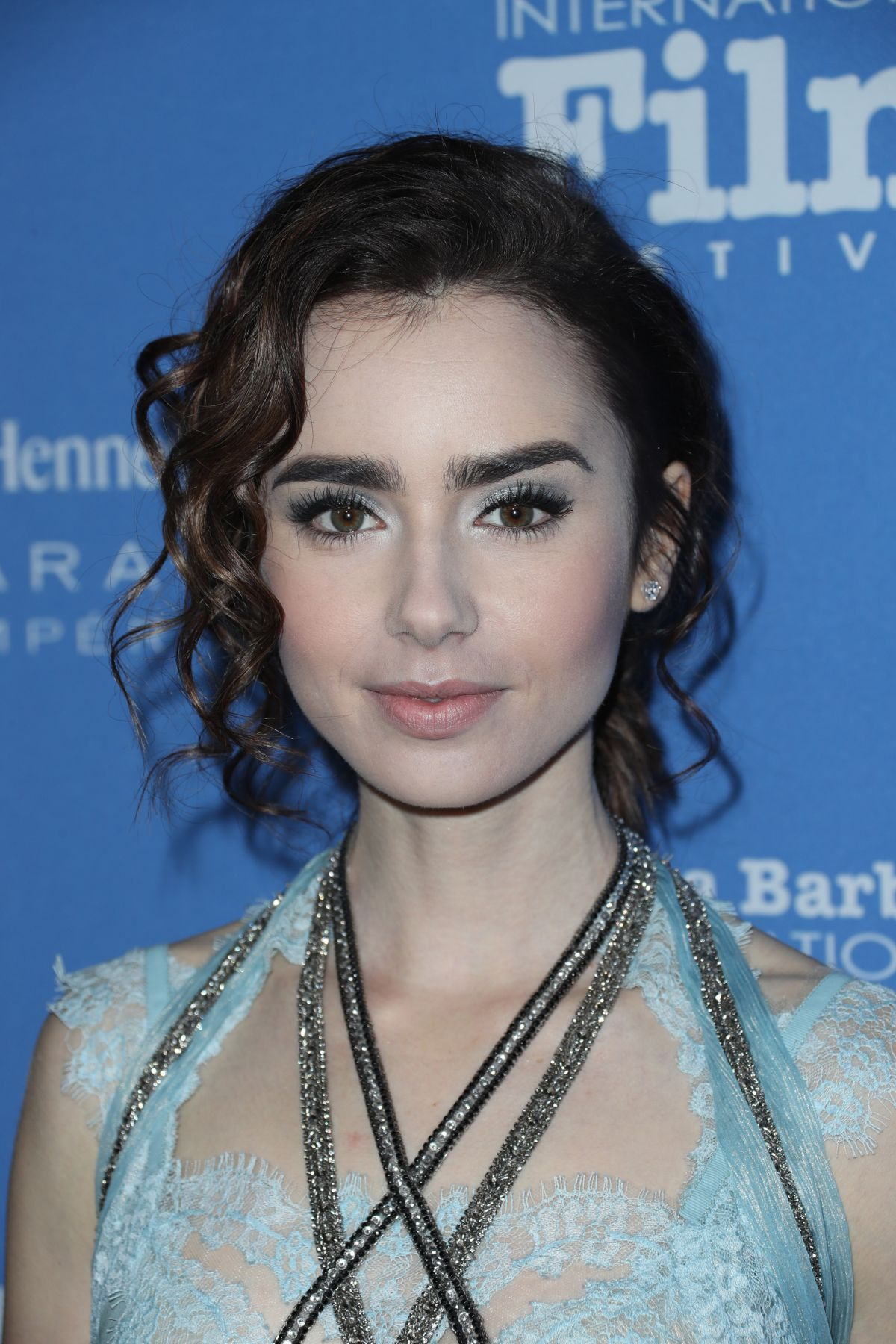 Lily Collins At SBI Film Festival for Excellence in Film at Bavaria Resort Spa in Goleta, CA