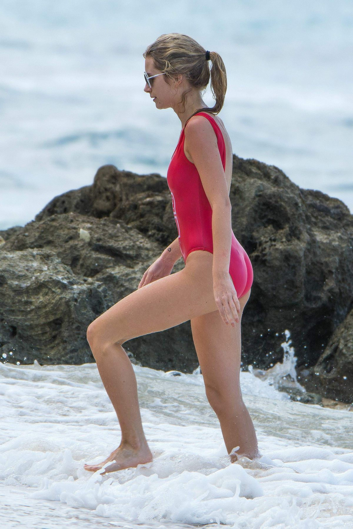 Lottie Moss In A one piece In Bridgetown, Barbados   lottie-moss-in-a-one-piece-in-bridgetown-barbados_11