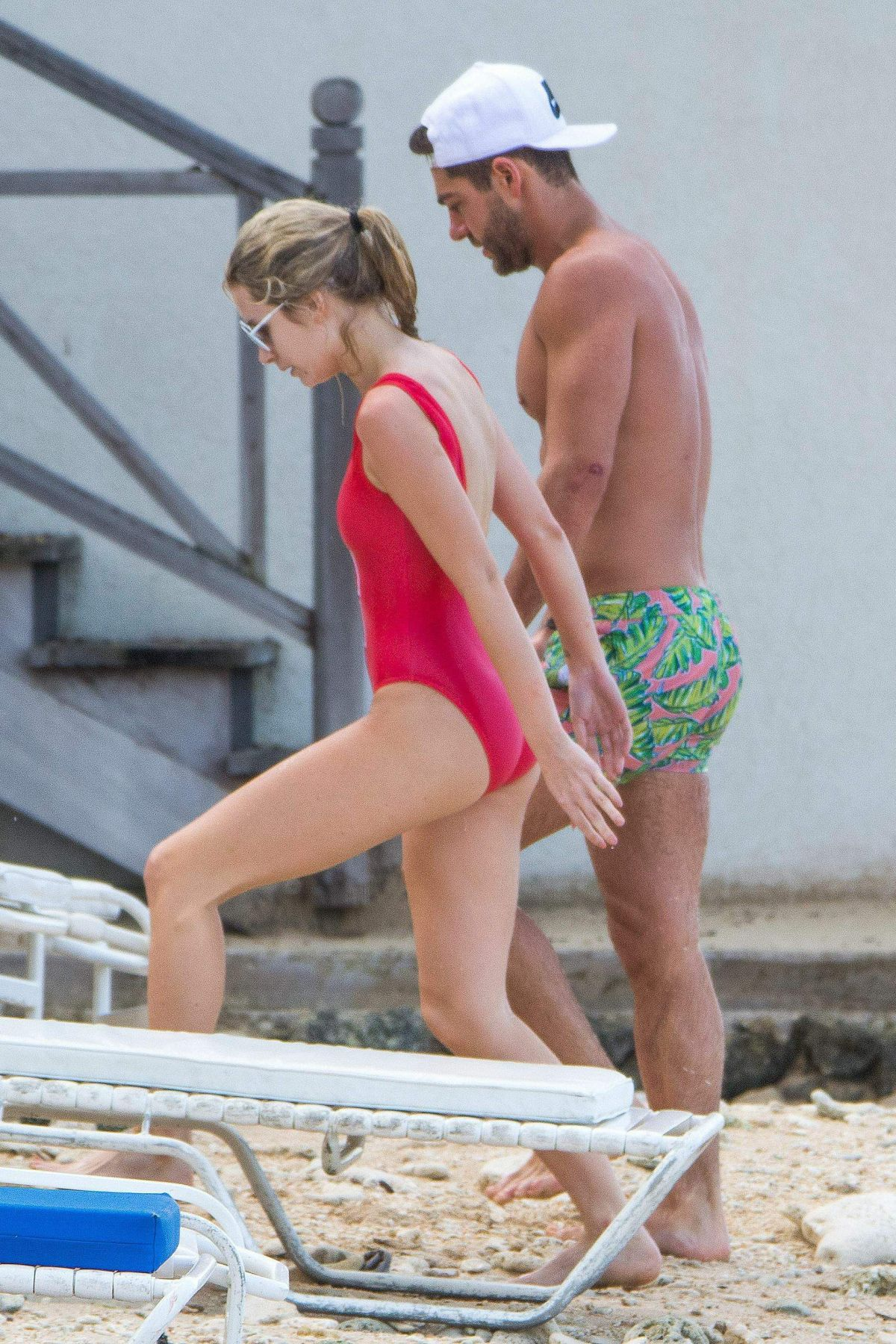 Lottie Moss In A one piece In Bridgetown, Barbados   lottie-moss-in-a-one-piece-in-bridgetown-barbados_14