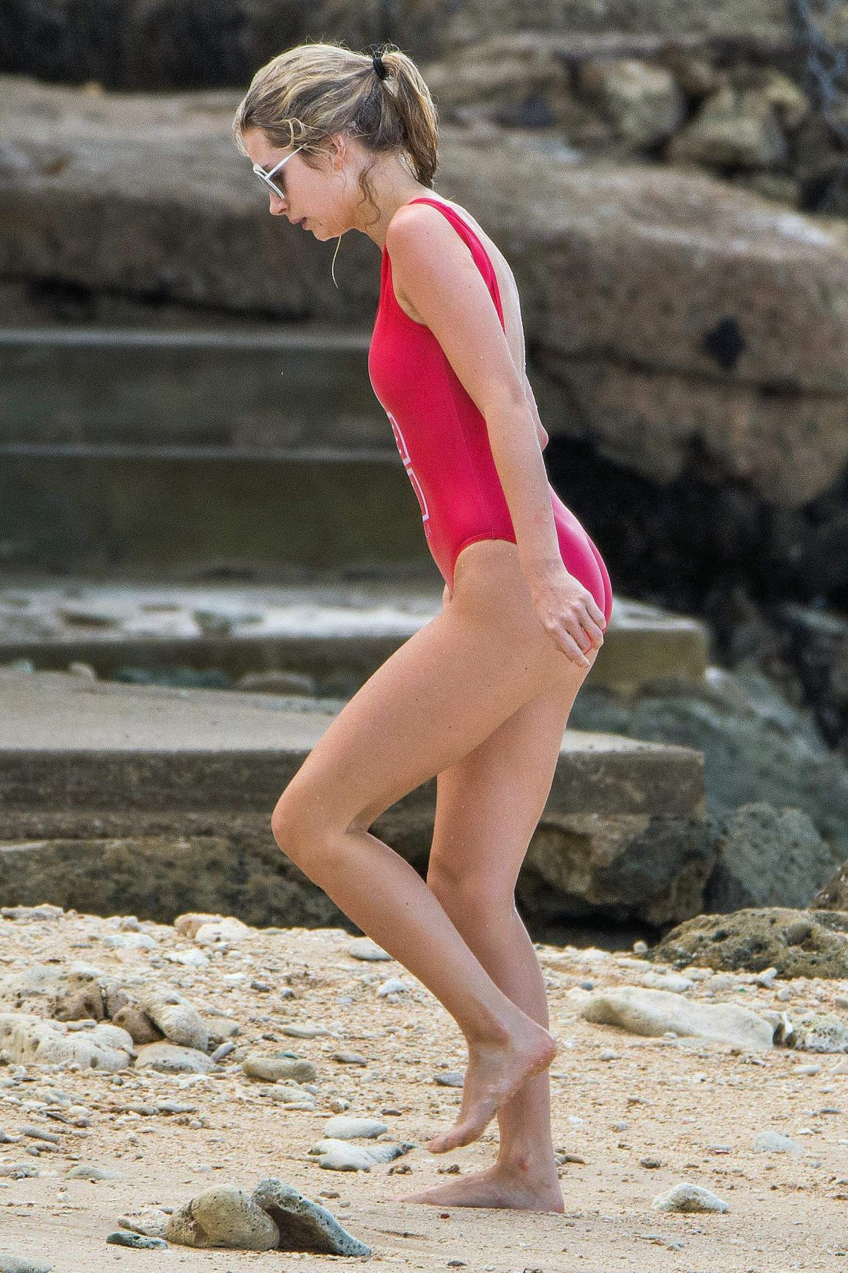 Lottie Moss In A one piece In Bridgetown, Barbados   lottie-moss-in-a-one-piece-in-bridgetown-barbados_19
