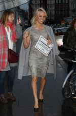 Pamela Anderson Delivers a petition to the High Comission of Mauritius, London