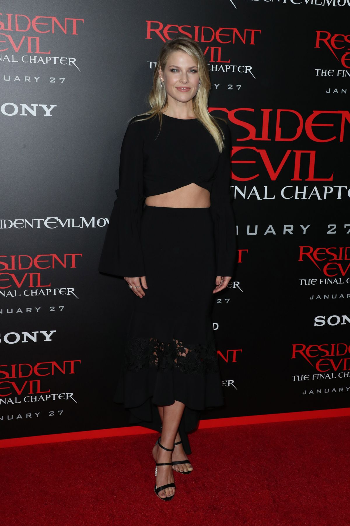 """Ali Larter At """"Resident Evil: The Final Chapter"""" Premiere in Los Angeles"""