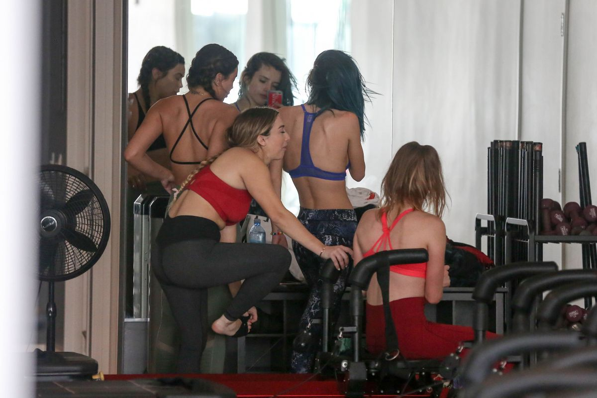 Bella Thorne At A Pilates Class In Los Angeles Celebzz