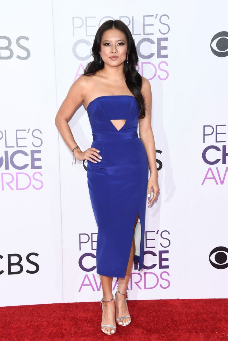 Christine Ko At 43rd Annual People's Choice Awards in Los Angeles ... Alessandra Ambrosio
