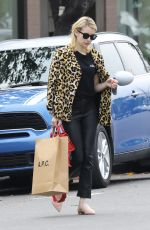 Emma Roberts Seen shopping at A.P.C Store in Los Angeles