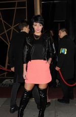 Hatty Keane Arriving for Tutti Rouge Fashion TV event in London