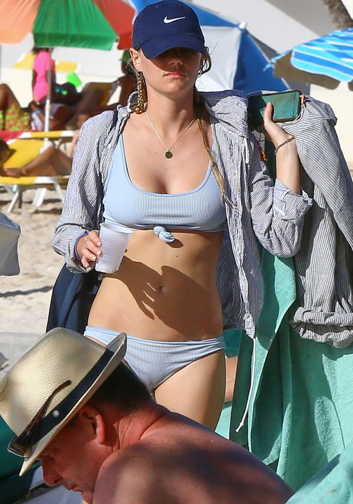 Immy Waterhouse On holiday in Barbados