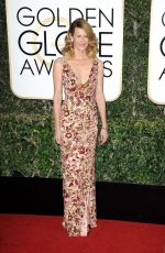 Laura Dern At 74th Annual Golden Globe Awards at The Beverly Hilton Hotel in Beverly Hills