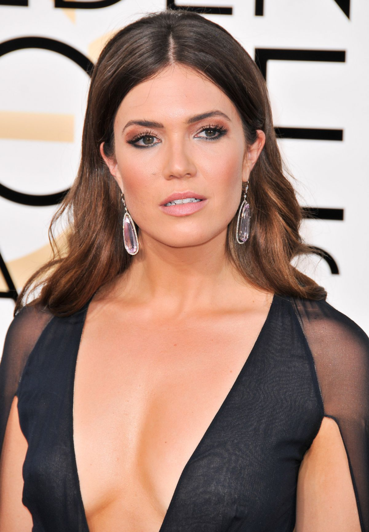 Mandy Moore At 74th Annual Golden Globe Awards In Beverly