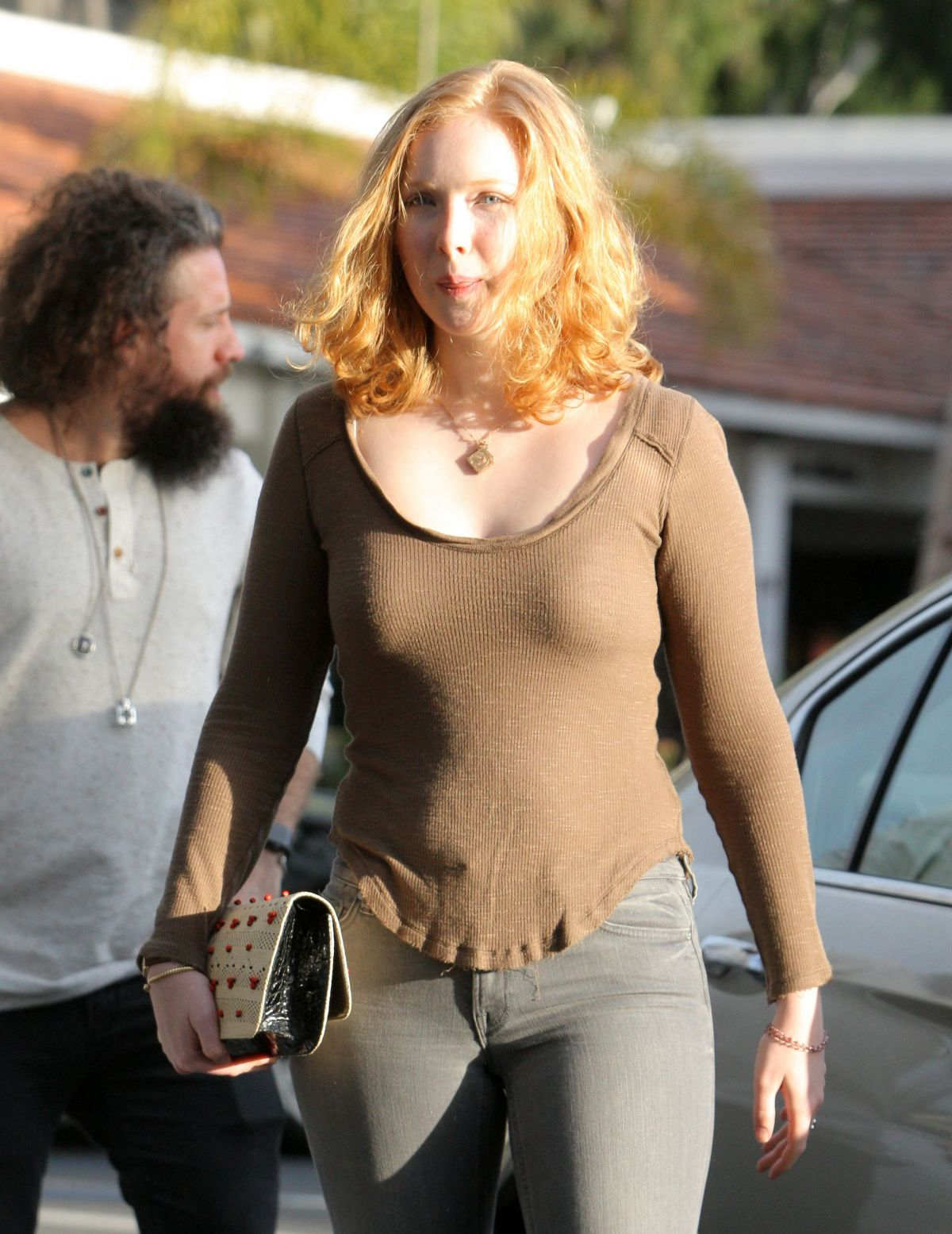 molly quinn out and about in los angeles celebzz