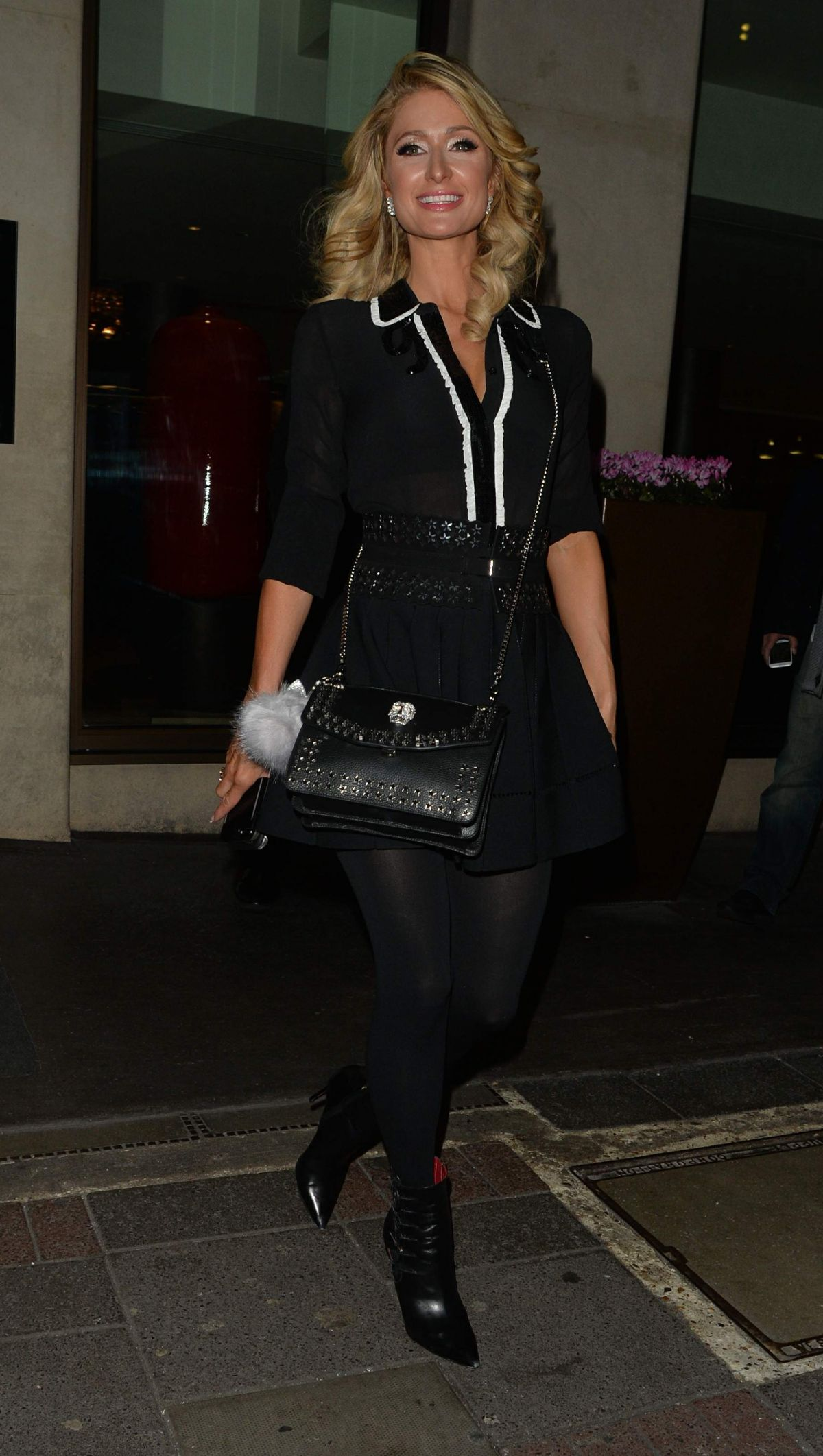 Paris Hilton Was spotted out in London