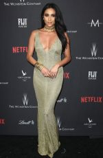 Shay Mitchell At Weinstein Company and Netflix Golden Globe Party in Beverly Hills
