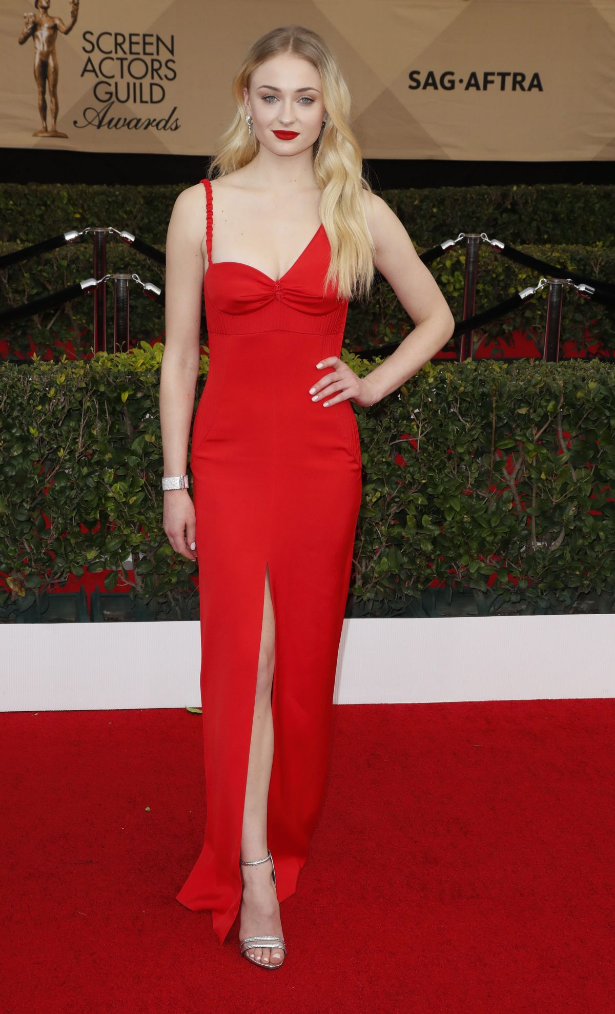 Sophie Turner At 23rd Annual Screen Actors Guild Awards in ...