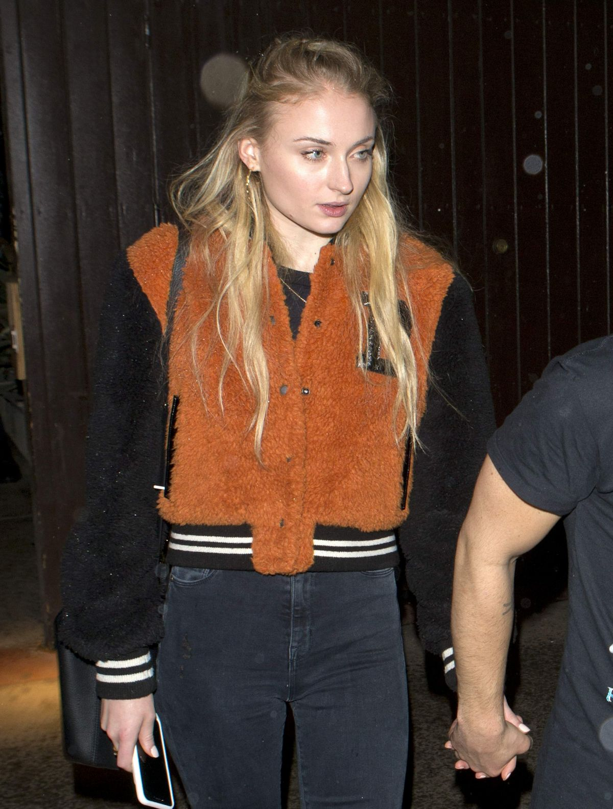 Sophie Turner Leaving a Jonas Brothers Private Party in West Hollywood