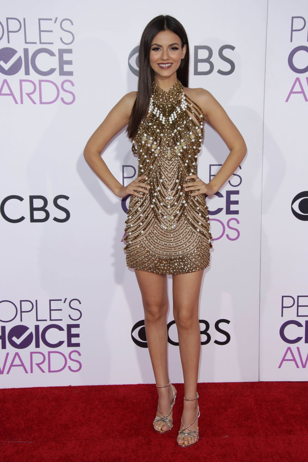 Victoria Justice At 43rd Annual People