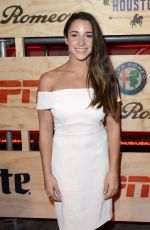Aly Raisman At 13th Annual ESPN The Party in Houston