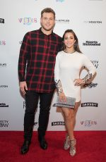 Aly Raisman At Vibes S.I. swimsuit launch event - Houston