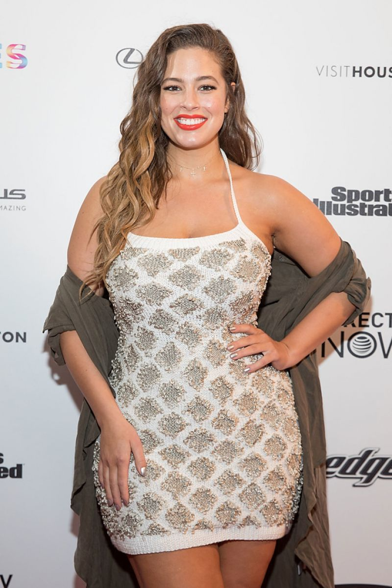 Ashley Graham At VIBES By SI Swimsuit 2017 Launch Festival in Houston