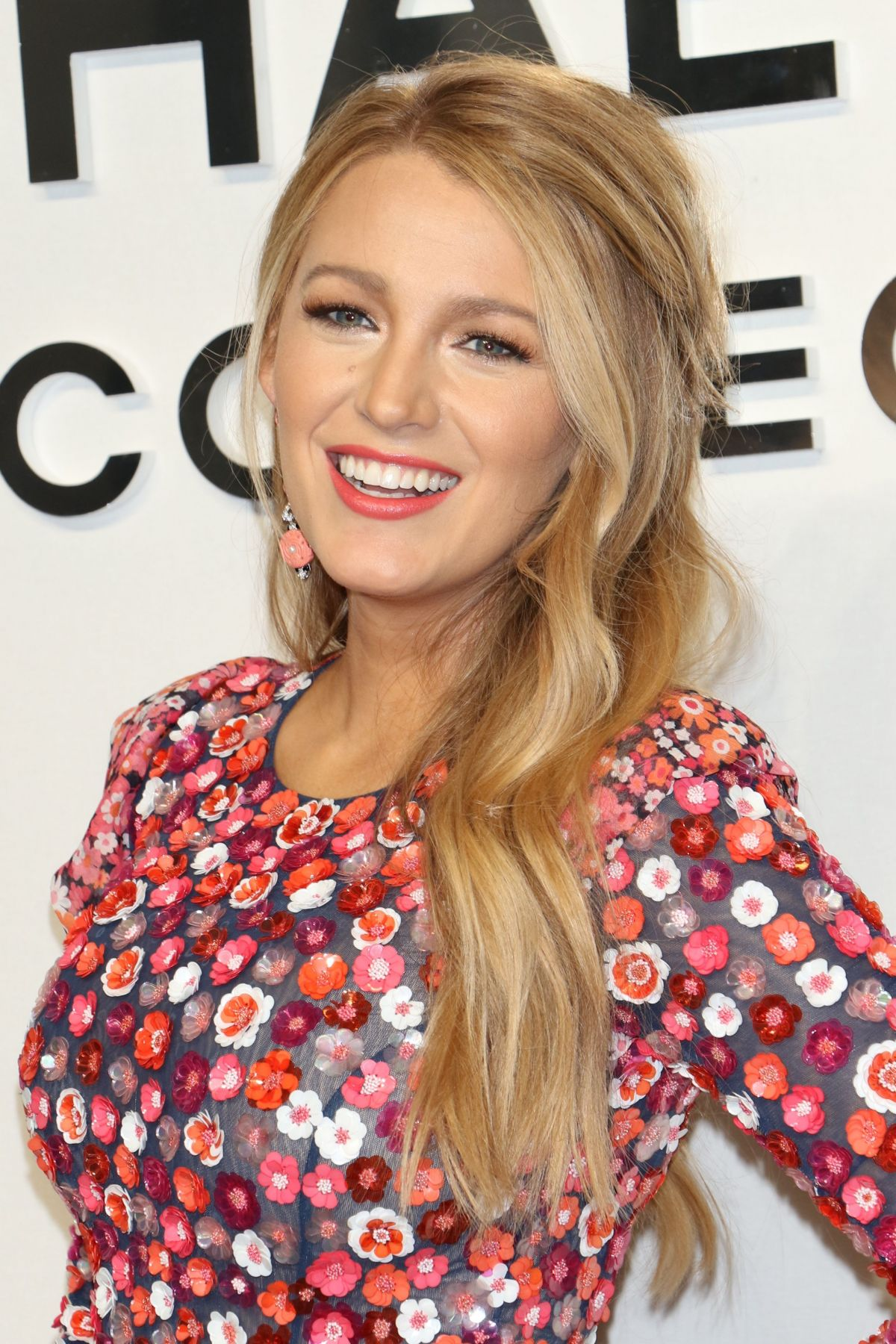 Blake Lively At Michael Kors show during New York Fashion ...