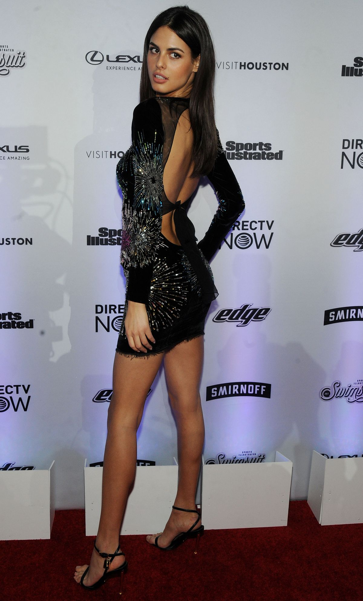 McKenna Berkley At Sports Illustrated Swimsuit Edition launch event in ...