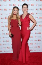 Bridget Moynahan At Go Red for Women Red Dress Collection New York Fashion Week