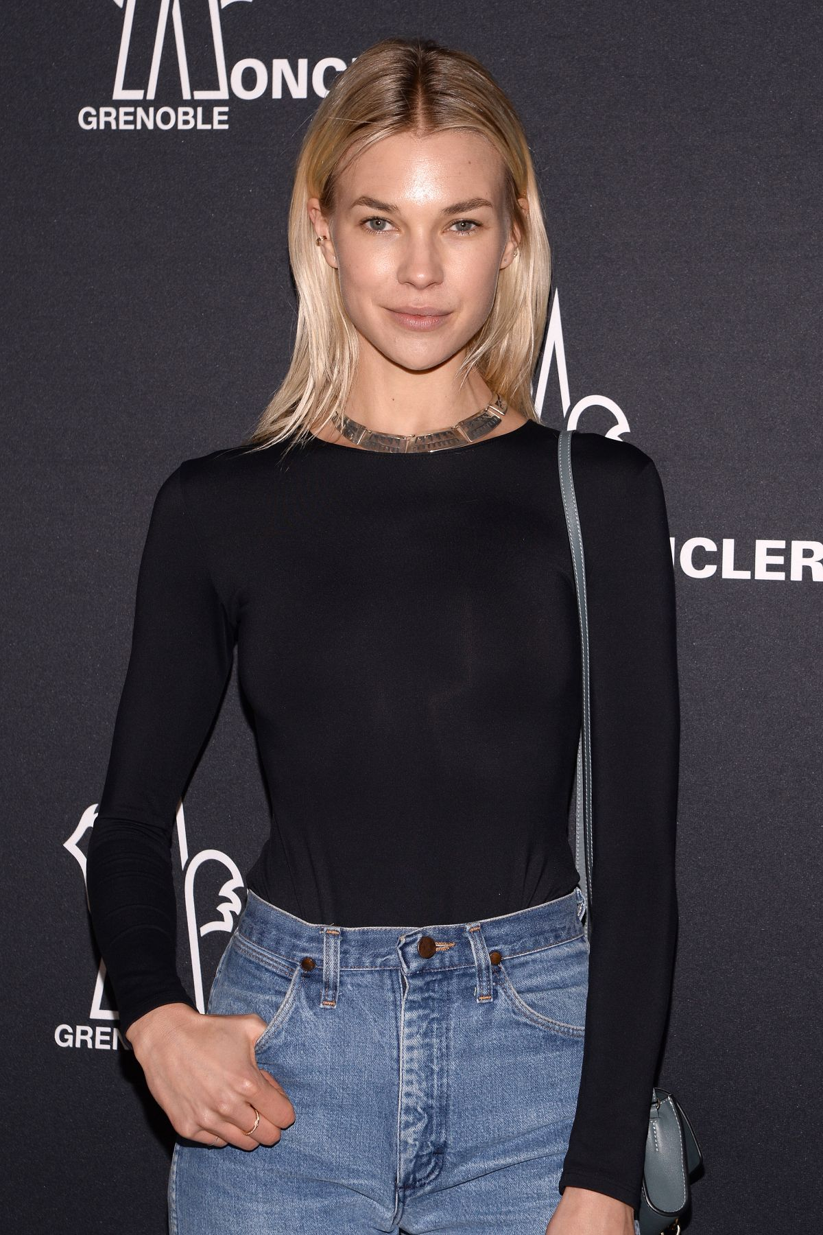 Britt Maren At Moncler Grenoble fashion Show in NYC